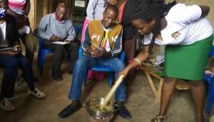 NUCAFE trainer orients youth on coffee roasting -Kiganda, Caritas Kiyinda Mityana