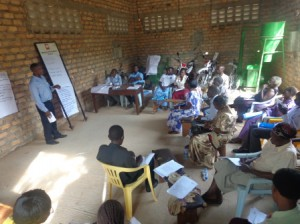 Provide capacity building of communities to participate in development opportunities
